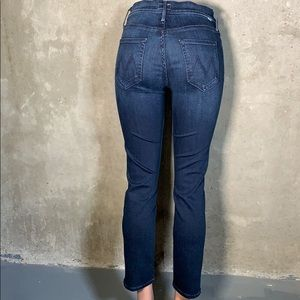Mother The Mid Rise Dazzler Ankle Squeeze Jeans
